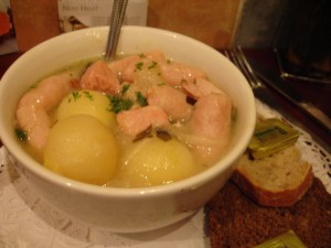 Irish Coddle from Olive St John Gogartys in Dublin Ireland | BettyCupcakes.com