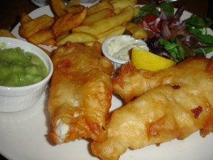 Fried Fish from the White House in Kinsale Ireland | BettyCupcakes.com