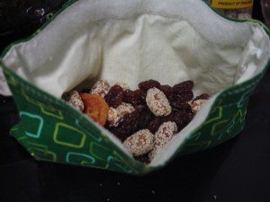 Pregnant Lady Trail Mix | BettyCupcakes.com #pregnant #trailmix #driedfruit #nuts